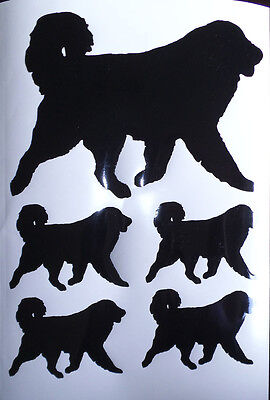 Pyrenean Mountain dog vinyl stickers/ car decals/ window decals