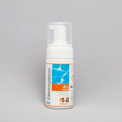 Clorexyderm 4% Foam For Dogs And Cats, 100ML, Premium Service, Fast Dispatch