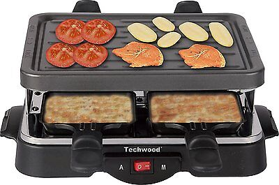 Techwood TRA-44 Raclette 4 Personnes