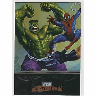 Marvel - Masterpieces Series 1 - Foil Parallel - Complete Card SET (90) 2007- NM