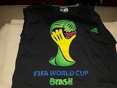 FIFA World Cup Brasil Brazil 2014 Official Adidas Ultimate Men's XL Extra Large