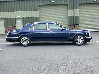 Bentley Arnage Rl 250 Lwb  Ultra Rare Factory Stretched Limousine 6.8 Twin Turbo