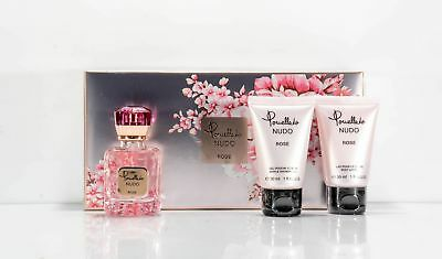 POMELLATO NUDO ROSA EAU DE PARFUM 25 ml + BAGNOSCHIUMA 30 ml + BL 30 ml Nel set