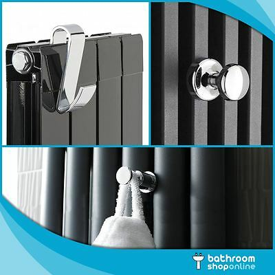 Hanger for Towel Rail Radiator Bath Robe Hook Holder Rad Chrome Effect Magnetic
