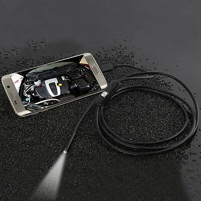 Lens Inspection Borescope Camera Android Endoscope 640*480 Phones/1280*720 PC~X