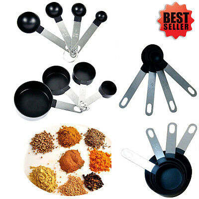 Kitchen Measuring Spoons Cups Teaspoon Coffee Baking Cooking Kitchen Tools Set