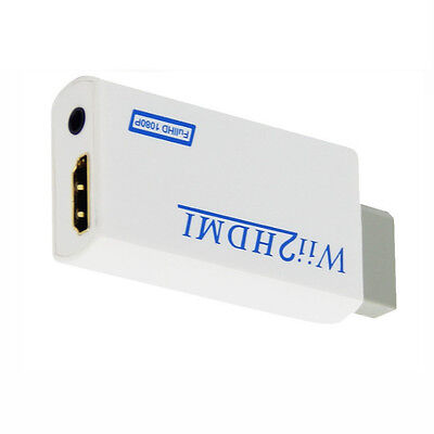 Wii2HDMI converter Adapter Wii to HDMI Audio HDMI 1080P 720P for NTSC 480i