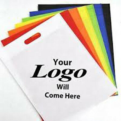 1000 Non woven D-cut shopping bag with your logo Fashionable Reusable Recyclable
