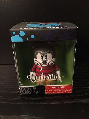 "Disney Vinylmation Dtour Mean Mickey ""nib"" Runaway Brain Dunny Kid Robot"