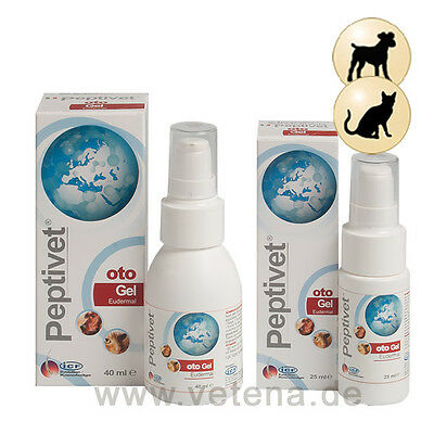 Peptivet Oto Gel 25ML, Cats And Dogs, Premium Service, Fast DIspatch.