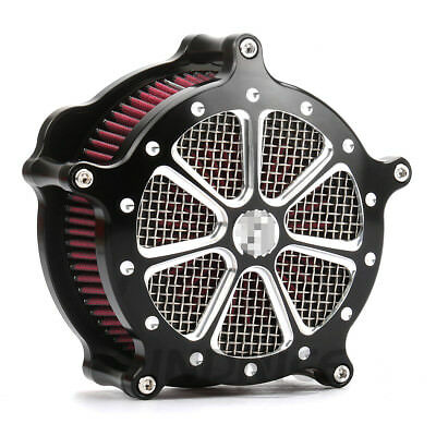 CNC Crafts Air Cleaner Filter Intake for Harley Sportster Iron 883 1200 04-15