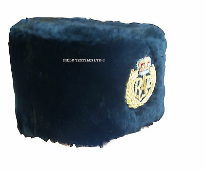 Royal Air Force Busby Musician Hat - Size 54Cm - Grade 1 Condition - Rl110