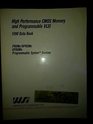 High Performance CMOS Memory and Programmable  Databook  1990
