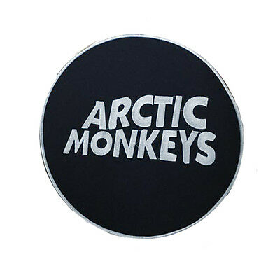 Arctic Monkeys Sew On Band Patch Black New Rare - Uk Stock
