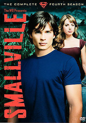 Smallville - The Complete Fourth Season (DVD, 2005, 6-Disc Set) *FREE SHIPPING*