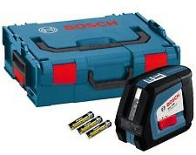 Bosch GLL250 GLL 2-50 Professional Cross Line Laser Level + Lboxx Carry Case
