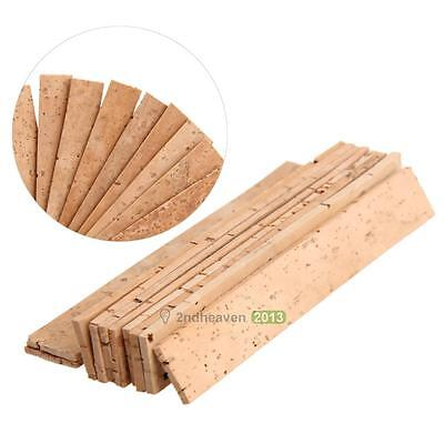 10 x Natural Sheet 2mm Bb Clarinet Joint Cork Clarinet Neck Set Tools