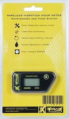 ProX Racing Parts Wireless Hour meter universal fit