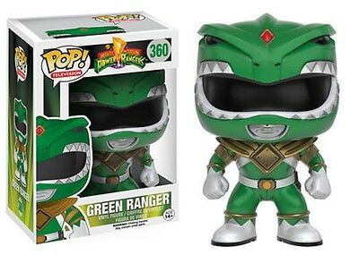 Funko Pop! Television 360 Mighty Morphin Power Rangers - Green Ranger Pop