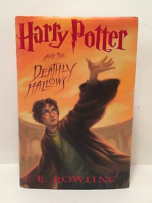 Harry Potter and the Deathly Hallows Book 7 J K Rowling HC/DJ 1st Ed. 1st Print