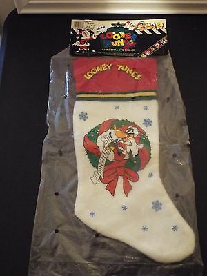 New In The Package Looney Tunes Daffy Duck Christmas Stocking