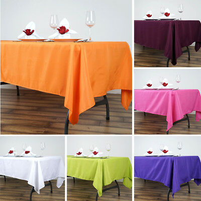 "30 pcs Wholesale Lot 60x102"" RECTANGLE POLYESTER TABLECLOTHS Catering Supplies"