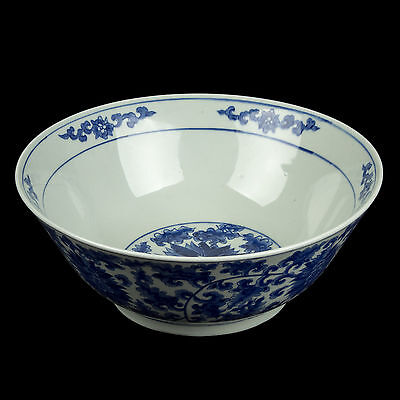 China 20. Große Schale  - A Large Chinese Blue & White Bowl - Chinois Cinese