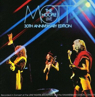 Live-30th Anniversary Edition - 2 DISC SET - Mott The Hoople (2009, CD NEUF)