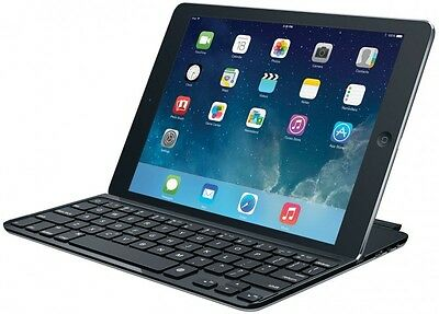 Logitech Ultrathin Keyboard Cover for iPad Air Space Grey (FRA Layout – AZERTY)