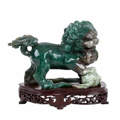 China 20. Jh. Figur - A Chinese Hardstone Figure of a Shi Shi - Chinois Cinese