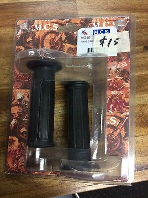 PW50 Black Motorcycle Grips