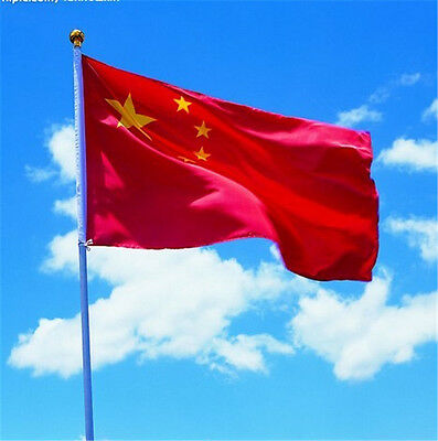 Hot 3'x5' Large Chinese Flag Polyester the China National Banner