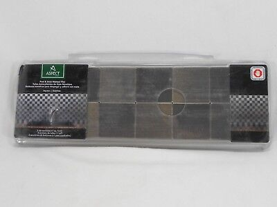 Aspect Metal A94-50 Peel & Stick Matted Tiles Stainless 1 Square Foot NIP