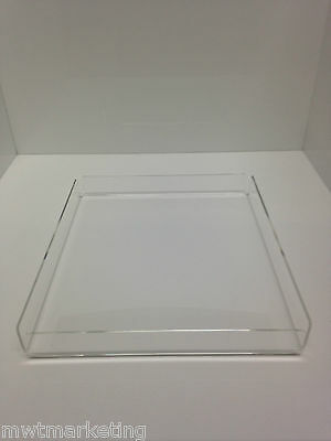 Bakery Display Tray Acrylic/Perspex -  Donuts, Muffins, Cakes