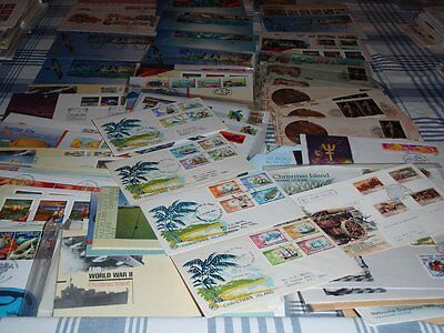 FDC Stamped and Cancelled Christmas Island Envelopes