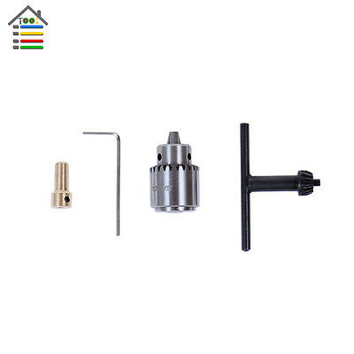 0.3-4mm JT0 Electric Drill Chuck Taper Mounted Lathe PCB For 2.3mm Motor Shaft