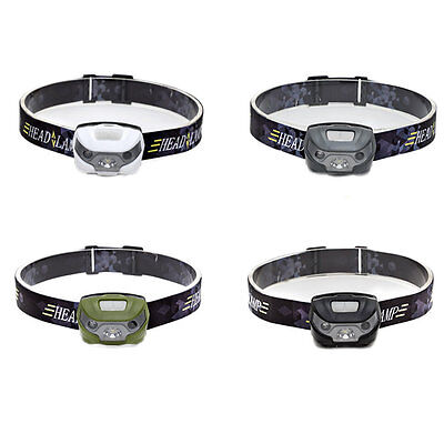 Waterproof 5W Super Bright Outdoor Night Safety Warning Running LED Head Lamp SI