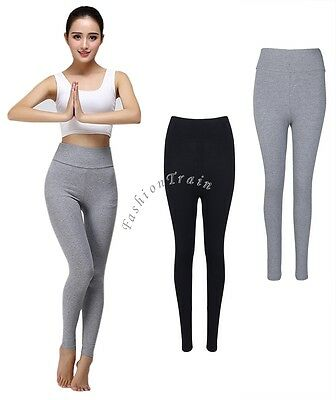 Womens Stretch Slim High Waisted Leggings Sports Workout Yoga Skinny Tight Pants