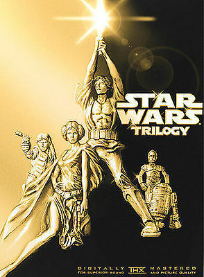 Star Wars Trilogy (A New Hope / The Empi DVD