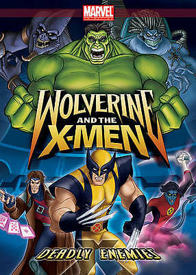 Wolverine and the X-Men: Deadly Enemies DVD