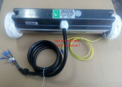 Bathtub heater 4.5KW Hot tub spa Pool heater 4500W with double heating element