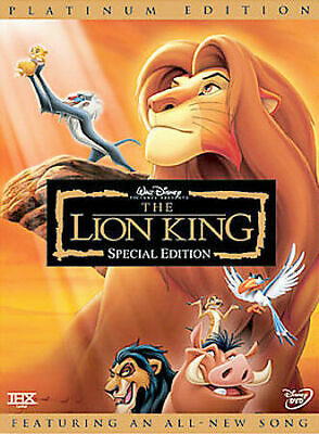 The Lion King (Two-Disc Platinum Edition DVD