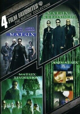 The Matrix Collection: 4 Film Favorites DVD