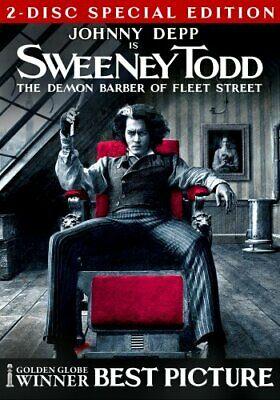 Sweeney Todd - The Demon Barber of Fleet DVD