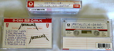 METALLICA no life 'till leather - demo CASSETTE FACTORY SEALED RSD 2015