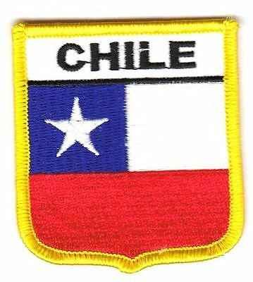 Wappen Aufnäher Chile Patch Flagge Fahne