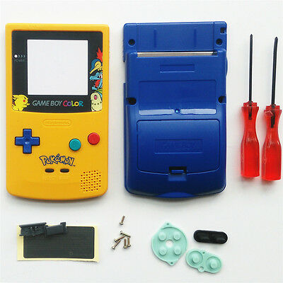 Pokemen And Eevee Limited Edition Shell Case For Nintendo Game boy Color GBC