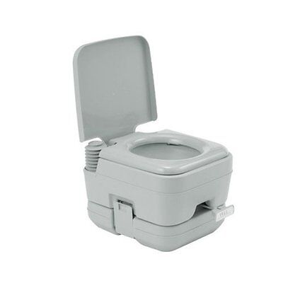 Deluxe Comfort Cube Mobil WC Toilette Camping Reise Chemietoilette 10L ZS