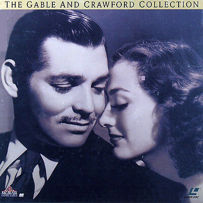 Gable And Crawford Collection (The) Box Set Ntsc Laserdisc
