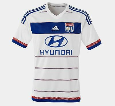 OLYMPIQUE LYON OL Adidas Home Shirt 2015/16 NEW S,M,L,XL Maillot Domicile Jersey
